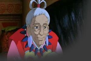 Princess Mononoke :: يستطيع الرأس العض حتى وهو مقطوع WiseWoman.jpg
