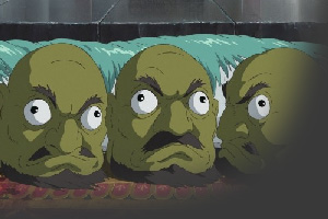 Spirited Away green heads